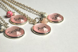 Kids Name Necklaces