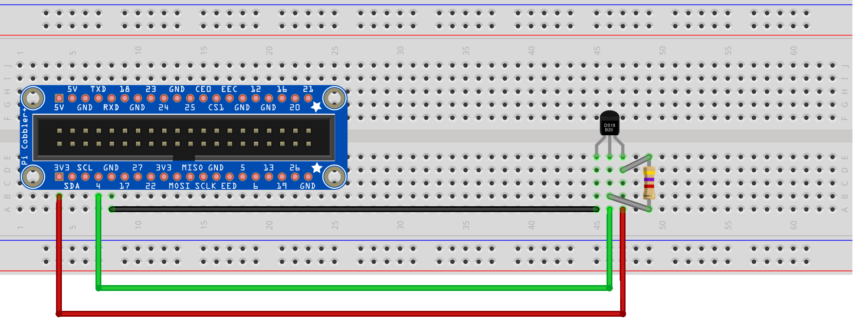 hight resolution of use raspberry pi to driver temperature sensor ds18b20