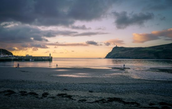 Port Erin Beach in Isle of Man