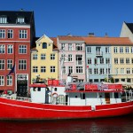 Denmark houses and canals