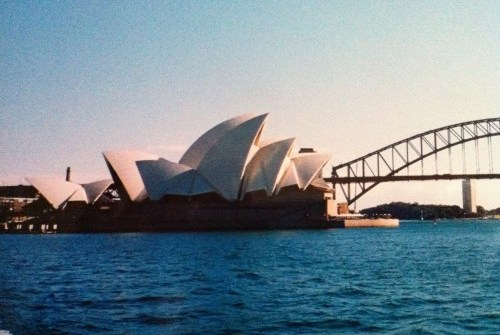 a photograph of Sydney Opera House