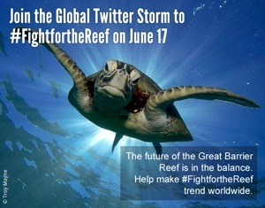Fight for the Reef – Twitter Storm
