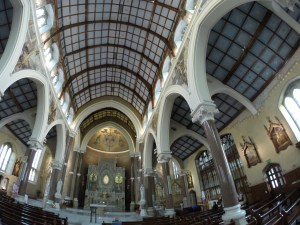Wild Rover Tours: interior shot of Clonard Monastery, West Belfast, NI