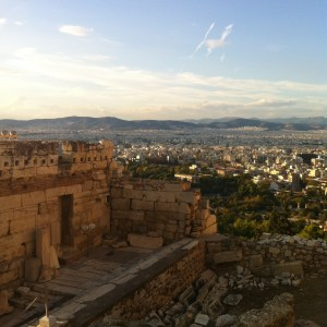 Athens: view from the Acropolis