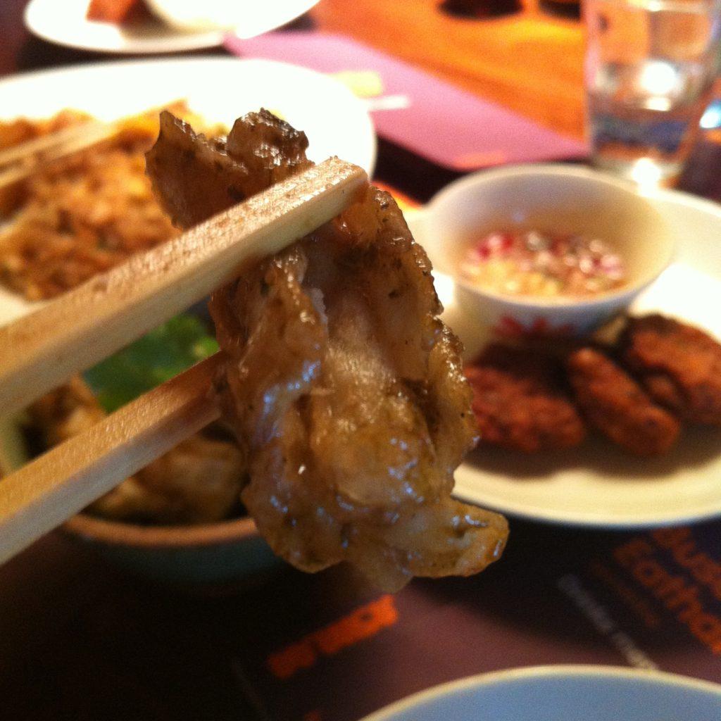 Kingston: sampling the Busaba calamari
