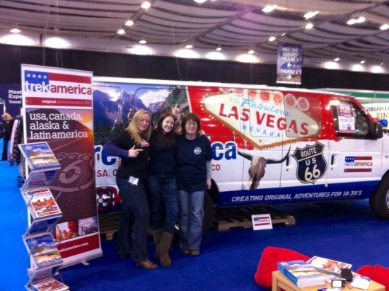 With Trek America at Destinations travel show