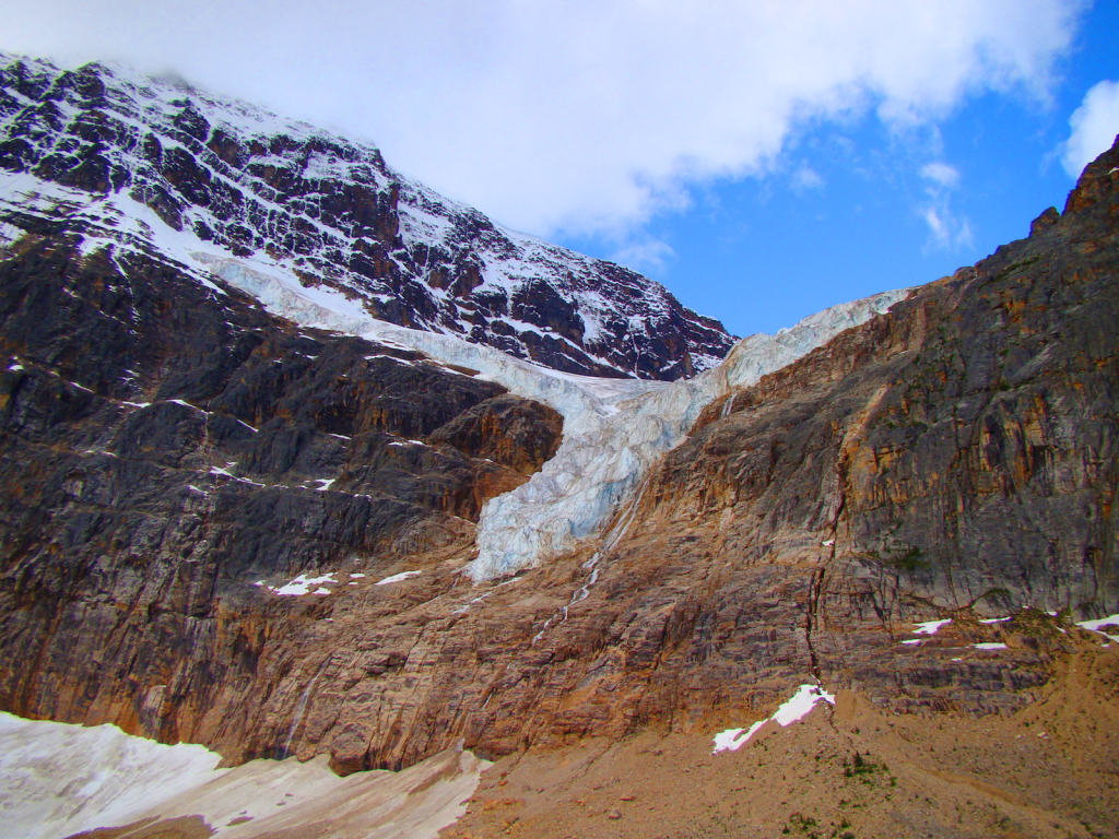 Angel's glacier