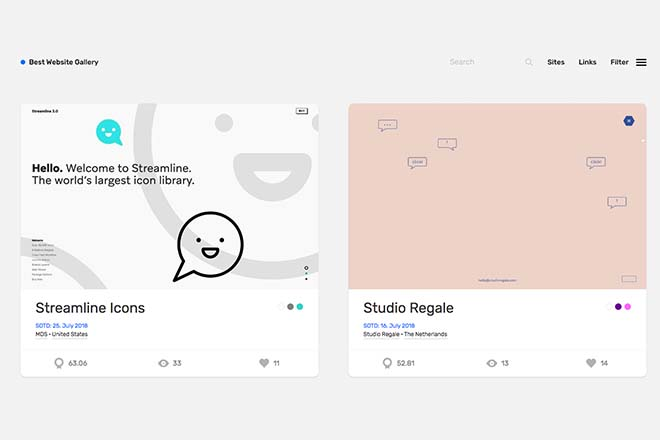 Best Website Gallery - Inspiration Web Design