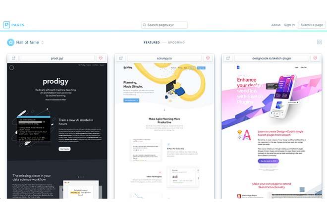 Pages - Inspiration Web Design