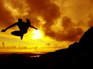 Jump Kick at Errisbeg