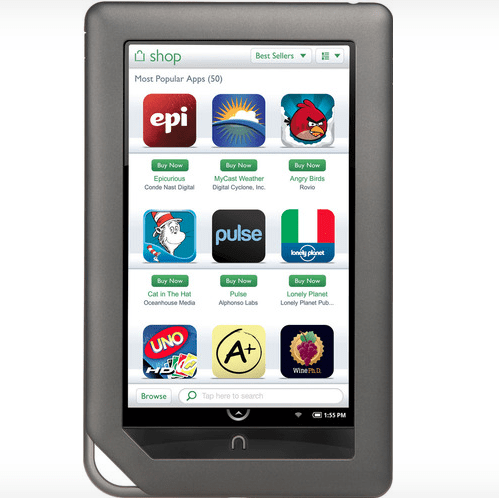 Nook tablet in Mexico | Teaching PNIEB    ideas and cool things
