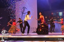 Ali Zafar & Humaima Malick setting LSA stage on Fire (2)