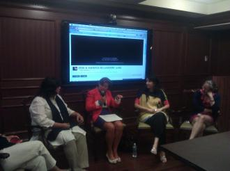 Zeb and Haniya panel at Georgetown University (4)
