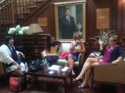 Zeb and Haniya panel at Georgetown University (5)