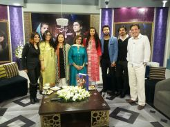 Fawad Khan, Sanam Saeed, Hadiqa Kiani, Sultana Siddiqui & Momina on Jago Pakistan Jago (3)