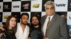 Waar Cast at Sozo World Cinema Lahore (2)