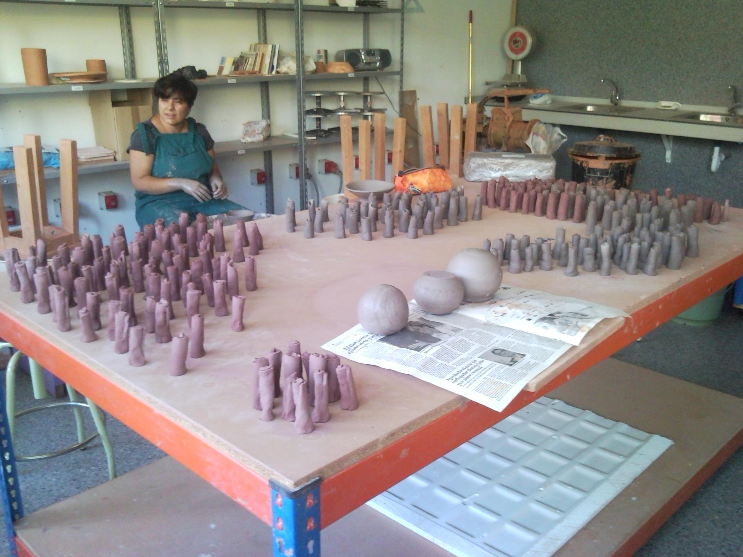 Esmaltes de ceniza alta temperatura 1230  Estudio Koneko