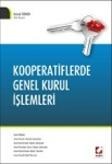 Kooperatif genel kurul işlemleri-Kitap