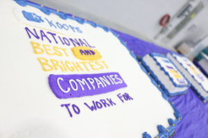 """BB cake Annual Team Meeting 12 300x200 - Koops Among """"Best and Brightest Companies to Work for"""" Nationwide"""