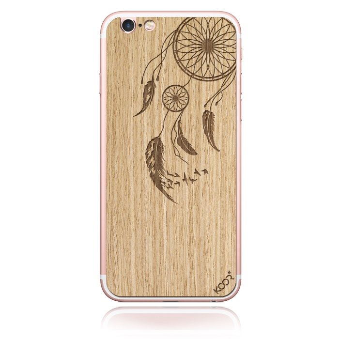 Dreamcatcher – Oak WOOD phone skin