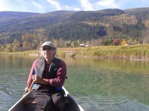 Paddling Slocan River