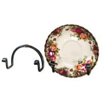 Mini Plate Holder, wall | Wrought Iron Home Accessories