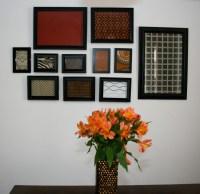 Framed Fabric Wall Art