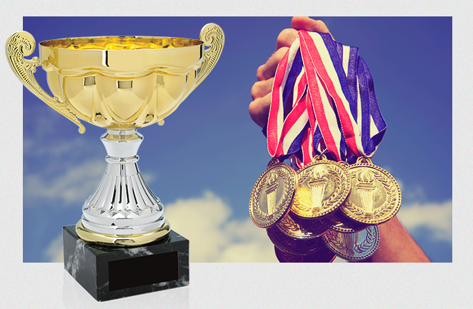 medals, trophies, participation awards, recognition, academics, education, athletics, sports