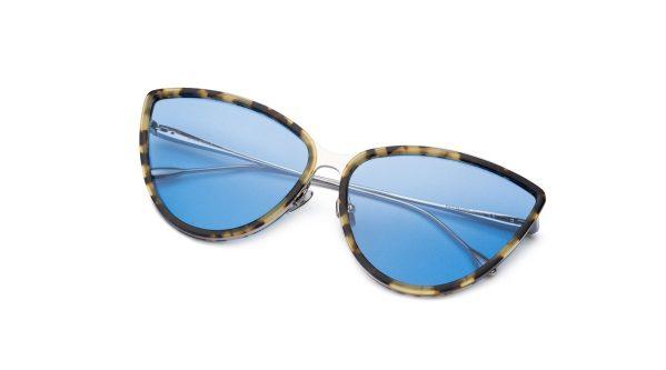 Leopard-Silver/Light Blue