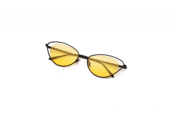 Black/Transpa Yellow