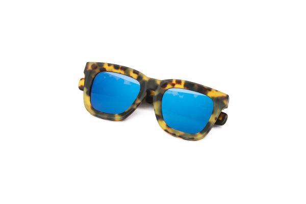 Leopard/Matt Blue