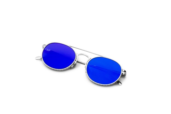 Shiny Silver/Blue Kopajos
