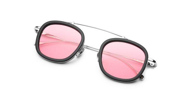 Black-Silver/Transpa Pink