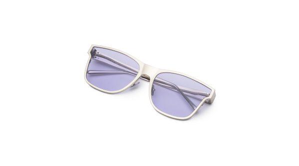 Shiny Silver/Violet
