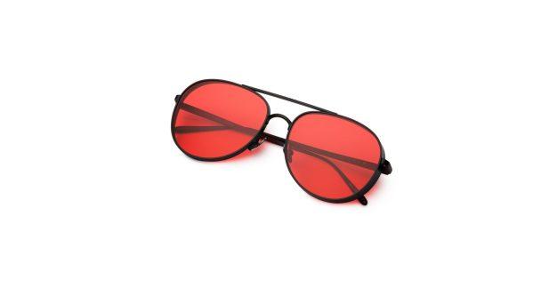Black/Crimson Red