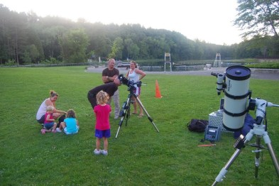 KAS Members Offer Solar Views and Planets during the day light