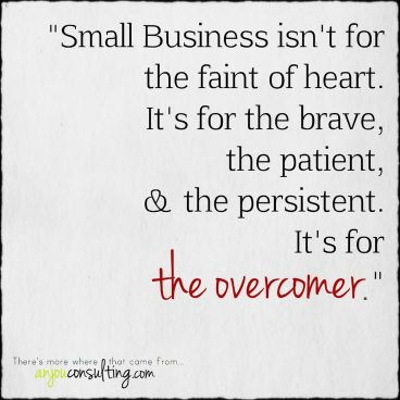 Small Business Perseverance | Kopf Consulting