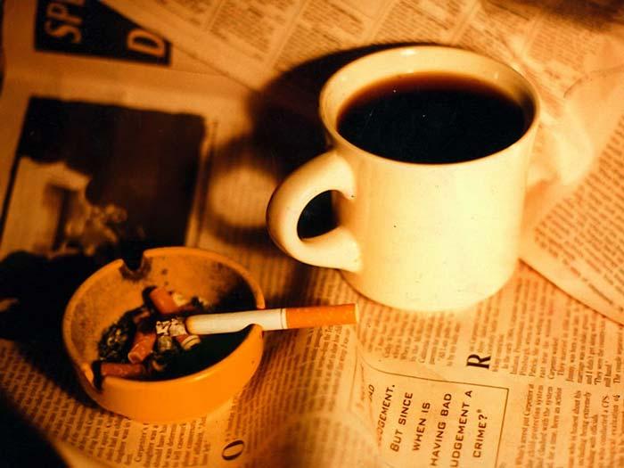 kopi dan rokok