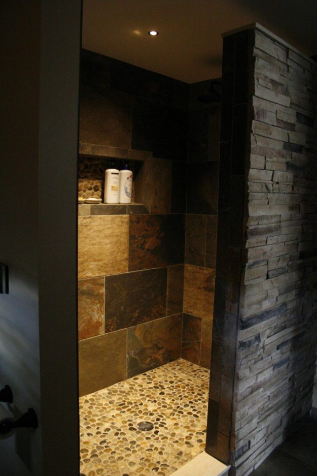 Bathroom design trend open showers kopke remodeling for Bathroom designs open showers