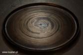 900x600Koplan _ Talerz szkliwo zlote efektowe