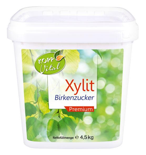 4,5kg Kopp Vital Xylit Birkenzucker premium