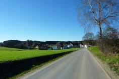 Anfahrt auf Asbach