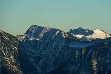 Estergebirge mit Bischof und Karwendel mit Soiern im Hintergrund