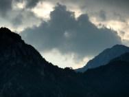 Wolkenspiele über den Idrobergen