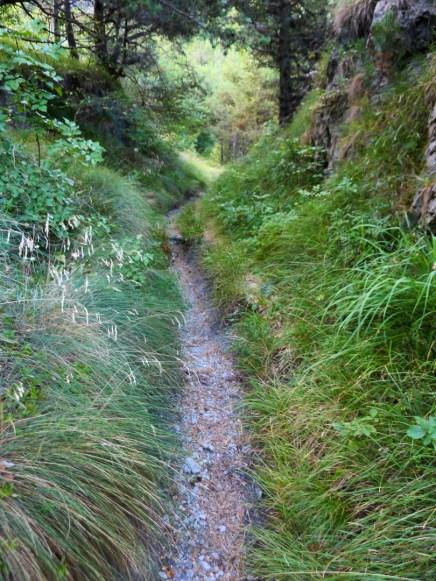 Trail in den Idrobergen