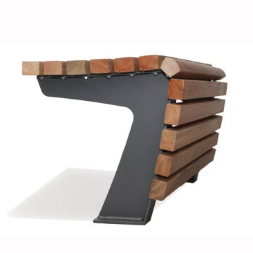 Enkelzijdige zitbank Tapis de bois