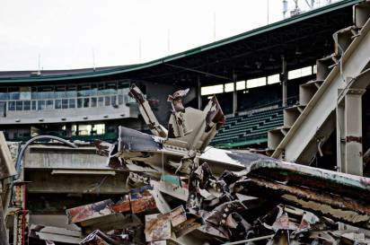 Wrigley Field Demolition