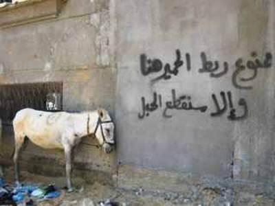 Witze Karikaturen und Bilder die Bnde sprechen  kopten ohne grenzen
