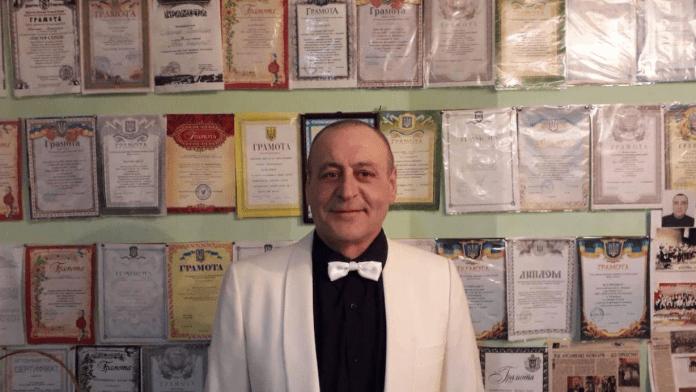 Михайло Мимрик та його шкільний ансамбль