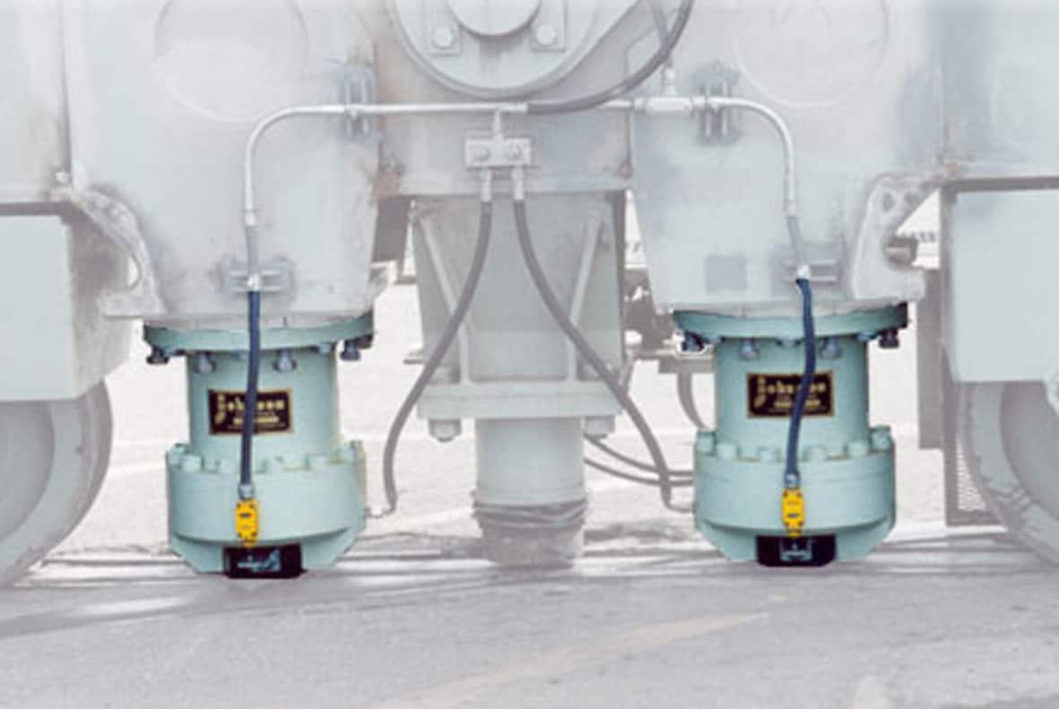 hight resolution of crane rail brakes